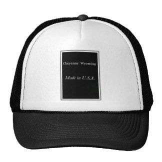 Cheyenne Wyoming Made in USA Cap Trucker Hat