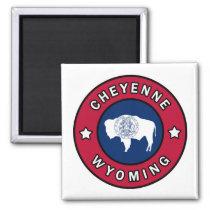 Cheyenne Wyoming Magnet
