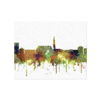 Cheyenne Wyoming Skyline - Safari Buff Canvas Print
