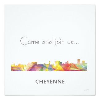 CHEYENNE, WYOMING SKYLINE WB1 - Invitations
