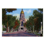 Cheyenne Wyoming State Capitol Building Print