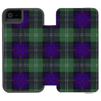 Cheyne clan Plaid Scottish kilt tartan iPhone SE/5/5s Wallet Case