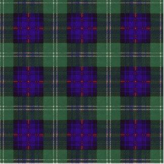 Cheyne clan Plaid Scottish kilt tartan Statuette