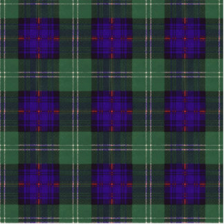 Cheyne clan Plaid Scottish kilt tartan Statuette
