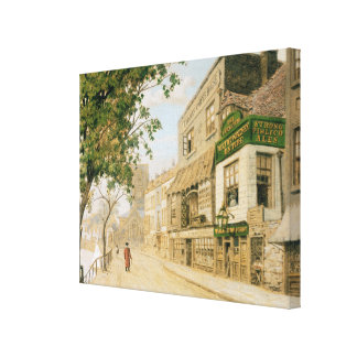 Cheyne Walk, Chelsea, 1857 Canvas Print