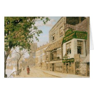 Cheyne Walk, Chelsea, 1857 Card
