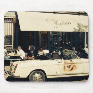 CHez Julien Picturesque Cafe in Paris, France Mouse Pad