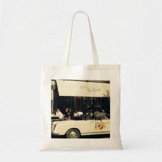 CHez Julien Picturesque Cafe in Paris, France Tote Bag