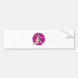 Chi Chi Revolver Hula Hoop Bumper Sticker