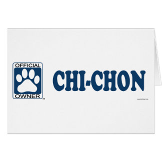 Chi-Chon Blue Card