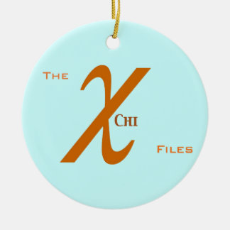 Chi FIles Ornament (Aquamarine)