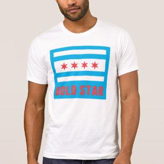 CHI Flag Bold Star Logo Men's Tee