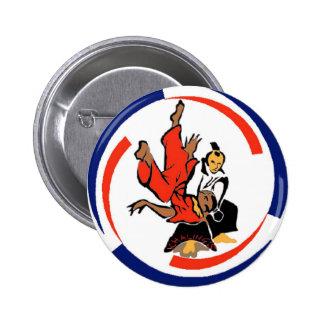 Chi in Aikido 2 Inch Round Button