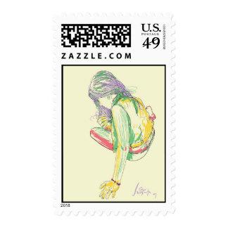 Chi Lia Postage Stamp