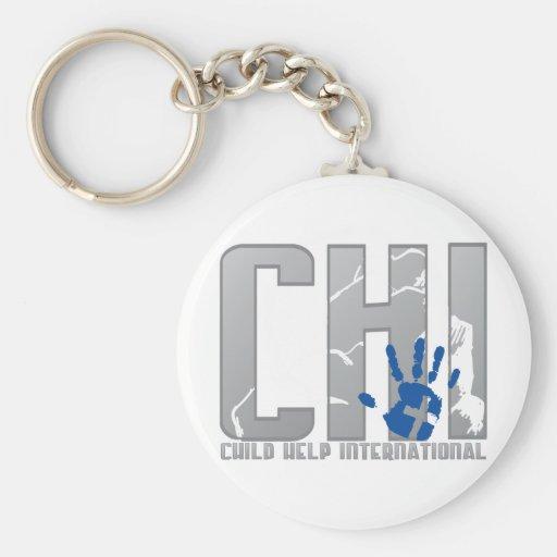 CHI Logo Gear Key Chains