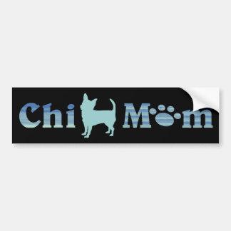 Chi Mom Chihuahua Mom Bumper Sticker