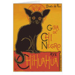 Chi Negro apparrel Greeting Cards