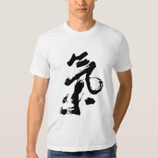 Chi or Qi in Chinese Calligraphy Brush Stroke Art Shirt