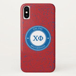 Chi Phi   Badge iPhone X Case
