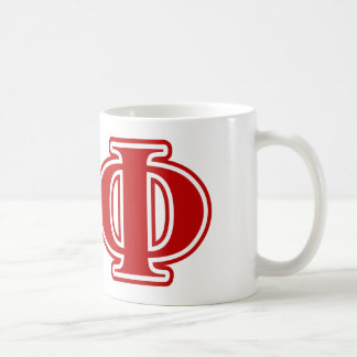 Chi Phi Red Letters Coffee Mug