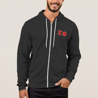 Chi Phi Red Letters Hoodie