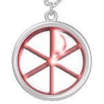 cross, red, metalic, chccfinc, christan, necklace,