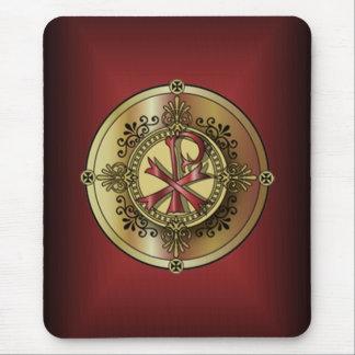 Chi-RhoMonogram ~ Christian Symbol P & X Mouse Pad
