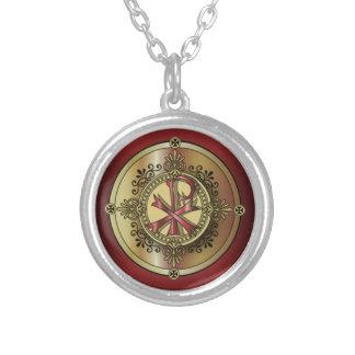 Chi-RhoMonogram ~ Christian Symbol P & X Custom Necklace