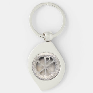 Chi Rho Monogram Keychain
