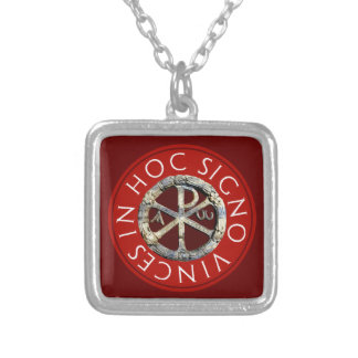 Chi-Rho Personalized Necklace