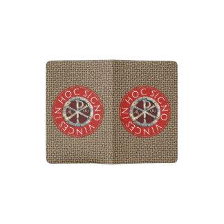 Chi-Rho Pocket Moleskine Notebook