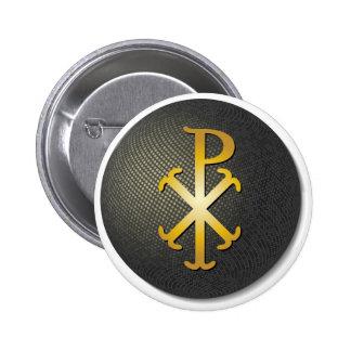 Chi-Rho (Symbol of Jesus Christ) Pinback Button