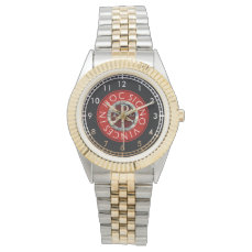 Chi Rho Symbol Wrist Watch