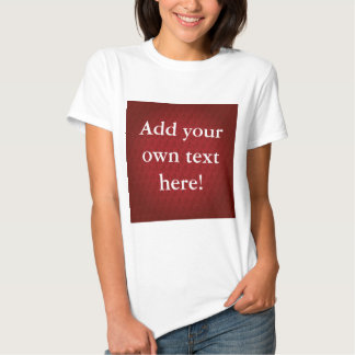 Chi Ro pattern in Red Tee Shirt