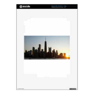 CHI-TOWN iPad 2 DECALS
