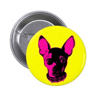 Chi-Warhol Pinback Buttons