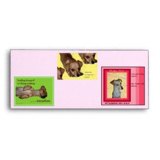 Chi-weenie Collage Envelopes