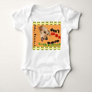 Chi-weenie Don't Care Baby Bodysuit