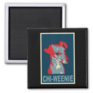 Chi-weenie Obama Style Magnet