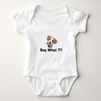 Chi-Weenie Say What ?? Baby Bodysuit