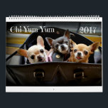 """Chi Yum Yum 2017 Calendar<br><div class=""""desc"""">12 Fabulous photos of all the Chi Yum Yum chihuahua&#39;s. They are YumYum, Lollipop, Gumdrop and our newest and tiniest member this year is Pixie. These are photos taken throughout our year of adventures on our social media sites. These little chihuahua&#39;s are all adopted and we spend our days helping...</div>"""