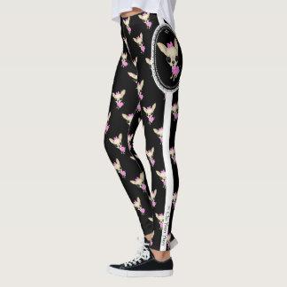 Chi Yum Yum leggings - LG  Logo - Blk