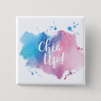 """Chia Up!"" Design Badge Pinback Button"