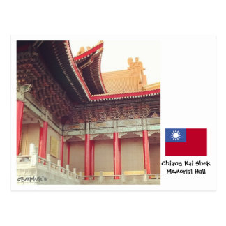 Chiang Kai Shek Memorial Hall Postcard