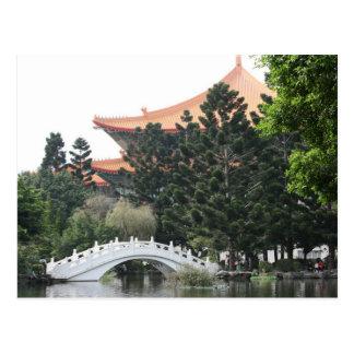 Chiang Kai-shek Memorial Park, Taipei City, Taiwan Postcard