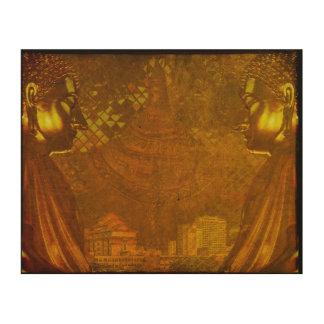 Chiang Mai Buda 1 Impresión En Madera