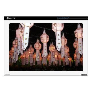 Chiang Mai Lanterns Laptop Decals