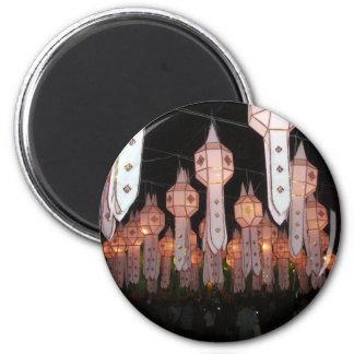 Chiang Mai Lanterns Magnet
