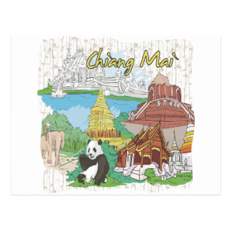 Chiang Mai Tarjeta Postal