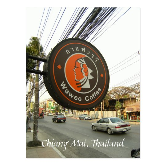 Chiang Mai's Coffee Chain Postcard